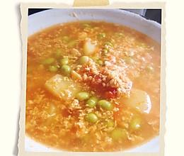 番茄蔬菜汤的做法