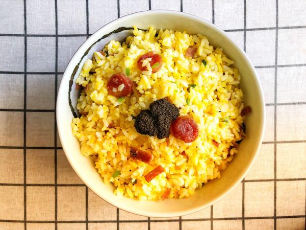 腊肠黄金蛋炒饭(米其林级别)