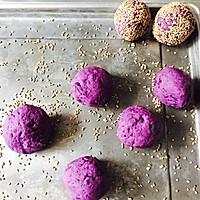 紫薯麻薯饼的做法图解4