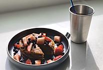 四种材料就能做的超健康燕麦松饼的做法