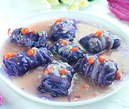 #相聚组个亲友局#紫气东来~白菜酿肉的做法