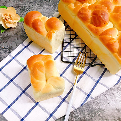 超柔软拉丝的玉米油老面包