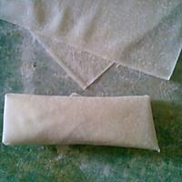 韭黄黄鱼黄金春卷(含春卷制作的详细步骤)的做法图解7
