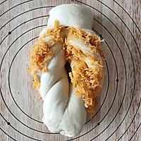 香葱肉松芝士吐司的做法图解16