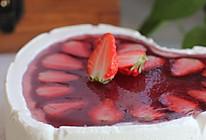 草莓果冻慕斯蛋糕的做法