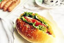 热狗面包~早餐的能量之选的做法