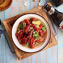 蒜蓉燕京U8啤酒小龙虾