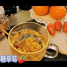 """#安佳一口""""新""""年味#  姜米茶&冰糖草莓"""