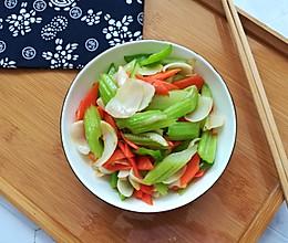 #创意菜#绿肥红瘦(原创)的做法