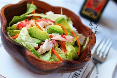 鳄梨龙虾沙拉