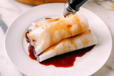 虾肠粉 | 快来挑战高手菜!从米浆到酱汁,太多细节在里