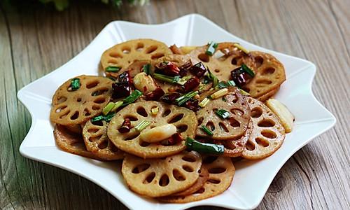 干锅藕片——利仁电火锅试用菜谱(五)的做法