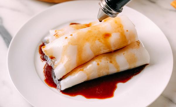 虾肠粉 | 快来挑战高手菜!从米浆到酱汁,太多细节在里的做法