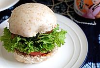 全麦馒头培根汉堡的做法
