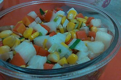 五彩蔬菜粒