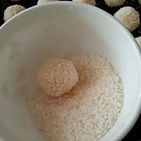 奶香椰丝球的做法图解5