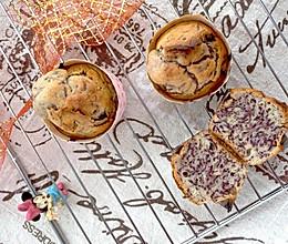 #爱好组-低筋# 蜂蜜紫薯甜蛋糕的做法
