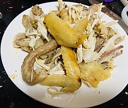 电饭锅版#盐焗手撕鸡#的做法