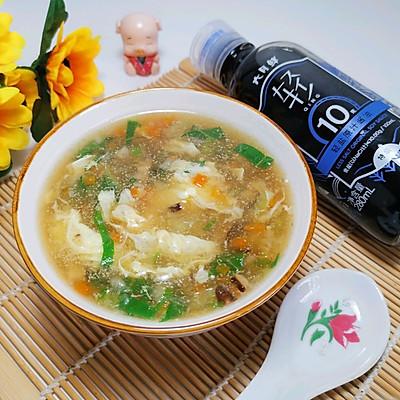 30天不重样月子汤‼️山药蔬菜芙蓉汤