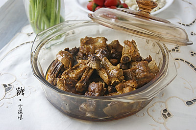【姬松茸焖排骨】提高免疫力的冬季养生菜