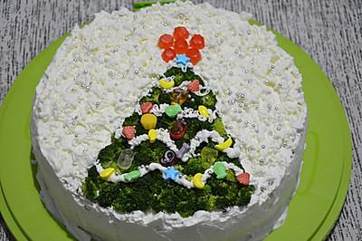 圣诞节9寸蛋糕