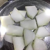 减肥餐~紫菜虾皮冬瓜汤的做法图解1