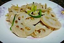 莲藕豆腐条的做法