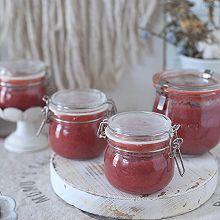 #做道懒人菜,轻松享假期#家庭版自制草莓酱