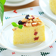 干果小米蛋糕