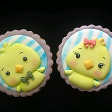 #美食新势力#糖霜饼干|萌鸡
