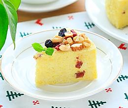 干果小米蛋糕的做法