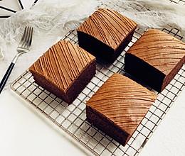 可可古早蛋糕的做法