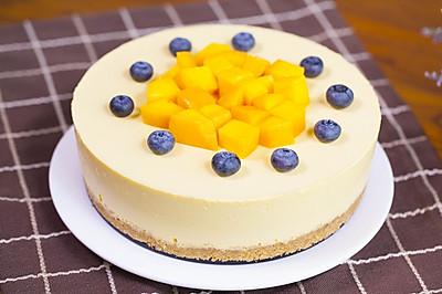 【免烤箱蛋糕】零失败芒果慕斯蛋糕