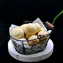 黑芝麻麻薯面包#春季食材大比拼#