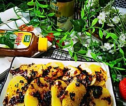 #太太乐鲜鸡汁玩转健康快手菜#鸡汁土豆片的做法