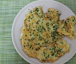 韭菜鸡蛋煎饼的做法