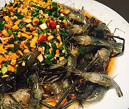 油淋虾的做法