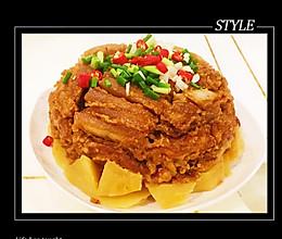 #憋在家里吃什么#香辣粉蒸肉的做法