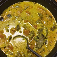 泰国菜---咖喱牛腩南瓜浓汤的做法图解5