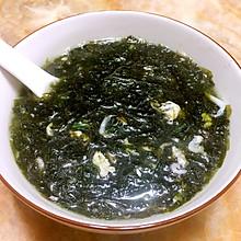 虾皮紫菜蛋花汤