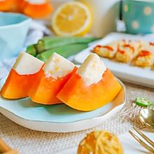 木瓜牛奶冻~宝宝辅食