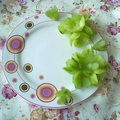富贵花开——拼盘装饰花