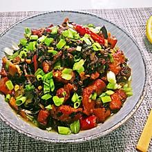 #无油版#梅干菜红烧肉