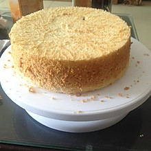 8寸超详细步骤戚风蛋糕(生日蛋糕基础蛋糕)
