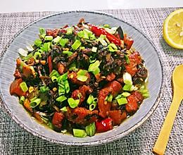 #无油版#梅干菜红烧肉的做法