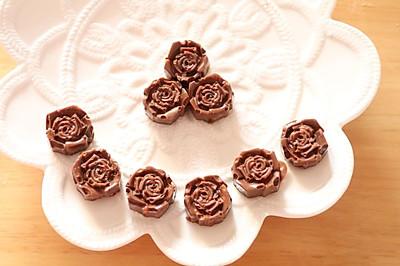 饼干之自制花生仁巧克力