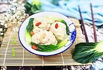 蟹粉狮子头~淮扬名菜自己做的做法
