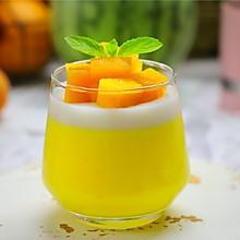 #我们约饭吧# 香甜嫩滑的椰奶芒果布丁