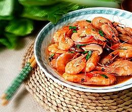 美味蒸对虾的做法