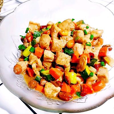 中式特色菜【宫保鸡丁】   元気汀